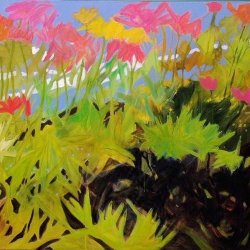 So-Much-Green-Acrylic-on-Canvas-48-x-36