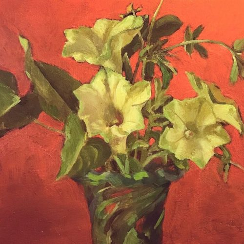 White Petunia 6 x 6 $250
